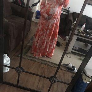 Free people maxi dress size medium